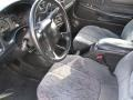 Graphite Interior Photo for 2002 Chevrolet S10 #39767542