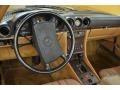 Dashboard of 1987 SL Class 560 SL Roadster