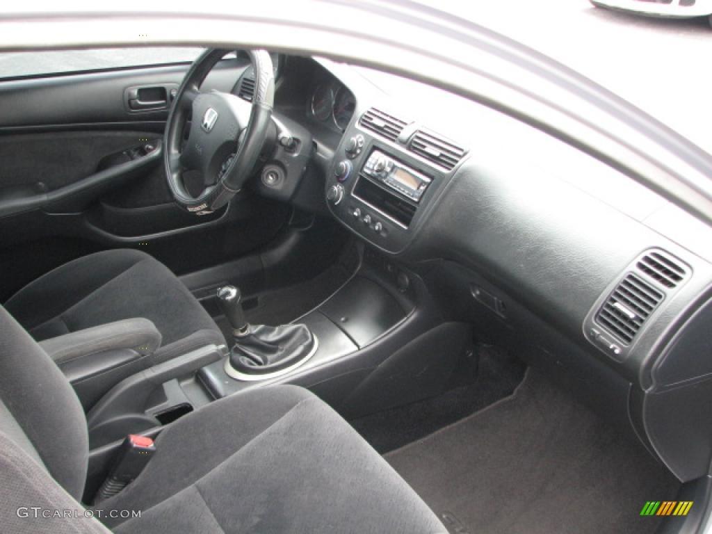 High Quality Black Interior 2004 Honda Civic EX Coupe Photo #39774442