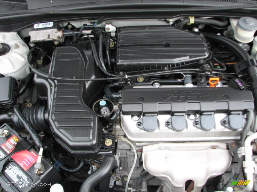 2004 Honda Civic Ex Coupe 1 7l Sohc 16v Vtec 4 Cylinder Engine Photo Rh  Gtcarlot Com 2004 Honda Civic Ex Coupe Engine Specs 2004 Honda Civic Ex  Coupe Engine ...