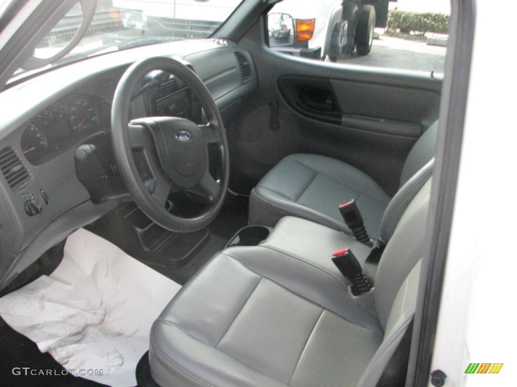 Medium Dark Flint Interior 2005 Ford Ranger XL Regular Cab ...