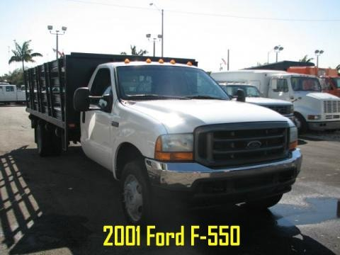 2001 Ford F550 Super Duty XL Regular Cab 4x4 Stake Truck Data, Info and Specs