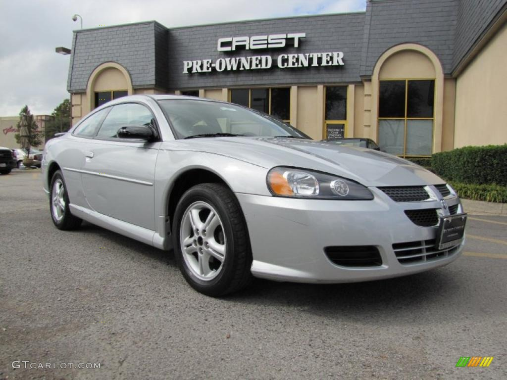 2005 Bright Silver Metallic Dodge Stratus Sxt Coupe
