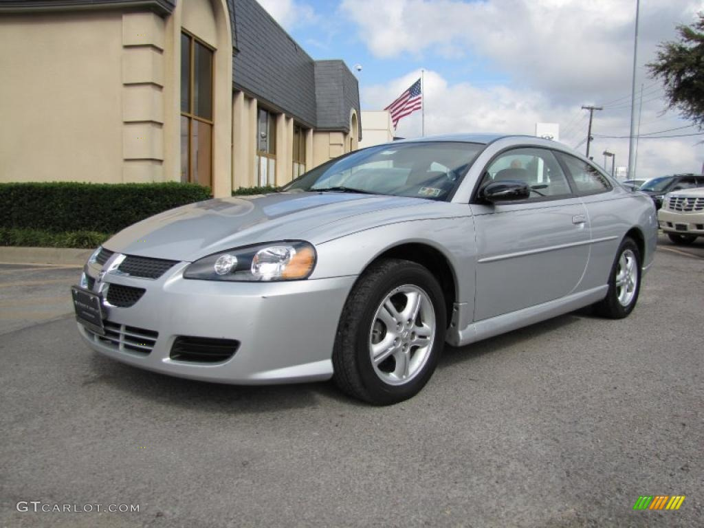 bright silver metallic 2005 dodge stratus sxt coupe. Black Bedroom Furniture Sets. Home Design Ideas