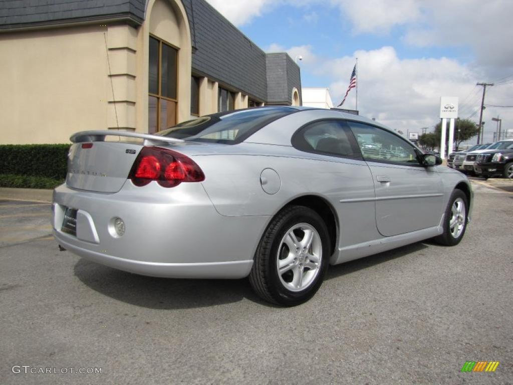 Bright Silver Metallic 2005 Dodge Stratus Sxt Coupe
