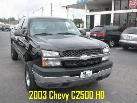 2003 chevrolet silverado 2500hd lt extended cab data info and specs. Black Bedroom Furniture Sets. Home Design Ideas