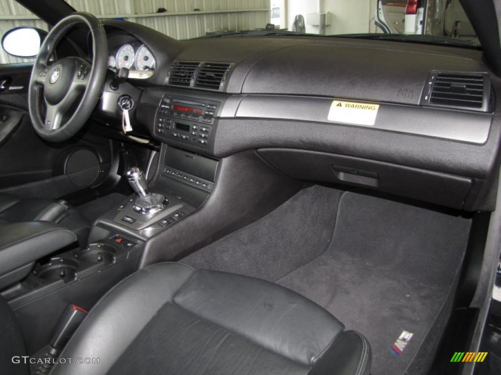 2005 BMW M3 Convertible Black