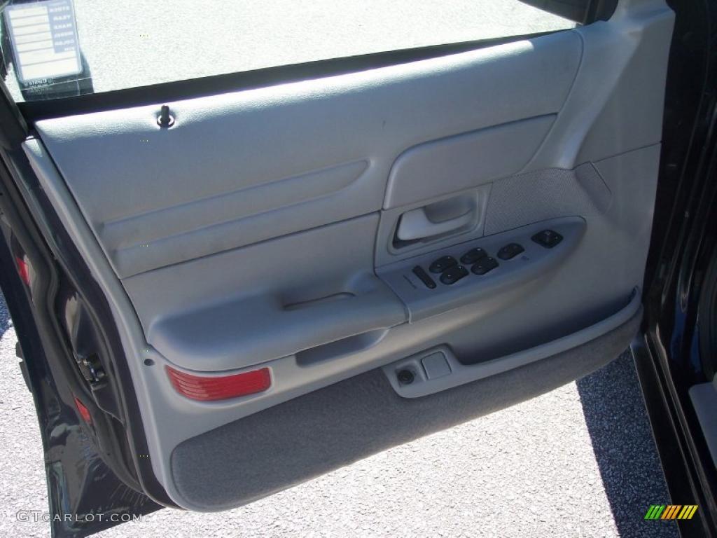 2001 Ford Crown Victoria Police Interceptor Light Graphite Door Panel Photo 39785574
