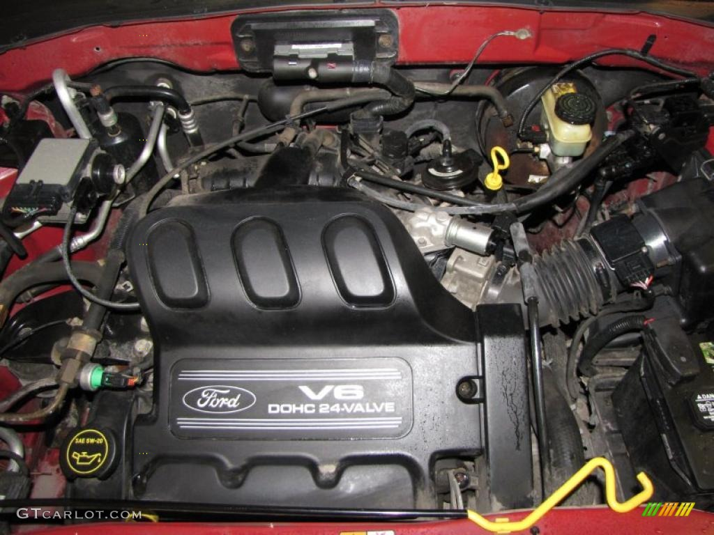 2001 ford escape xls v6 4wd 3.0 liter dohc 24-valve v6 ... engine diagram 2005 ford escape 3 0