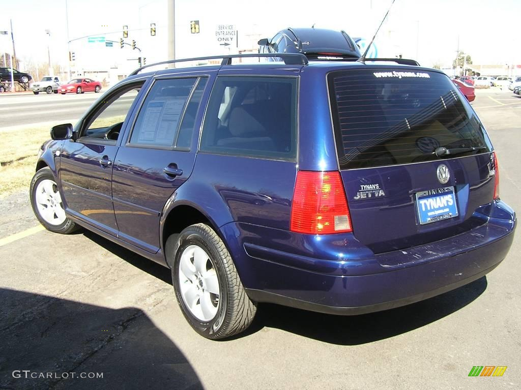 2004 indigo blue metallic volkswagen jetta gls tdi wagon. Black Bedroom Furniture Sets. Home Design Ideas