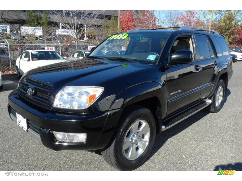2004 black toyota 4runner limited 4x4 39739165 gtcarlot. Black Bedroom Furniture Sets. Home Design Ideas