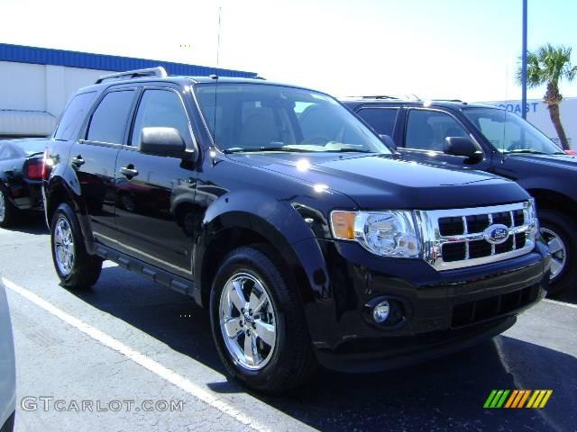 2009 black ford escape xlt v6 392574 car. Black Bedroom Furniture Sets. Home Design Ideas