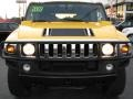 2003 Yellow Hummer H2 SUV  photo #2