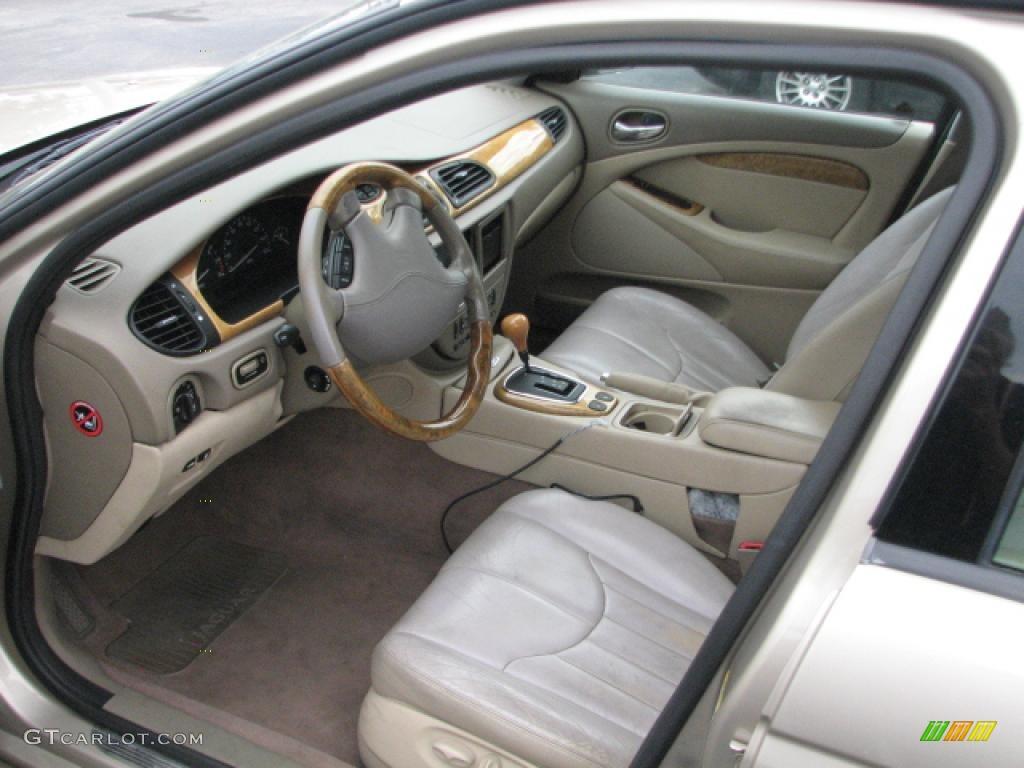Almond interior 2000 jaguar s type 4 0 photo 39804048