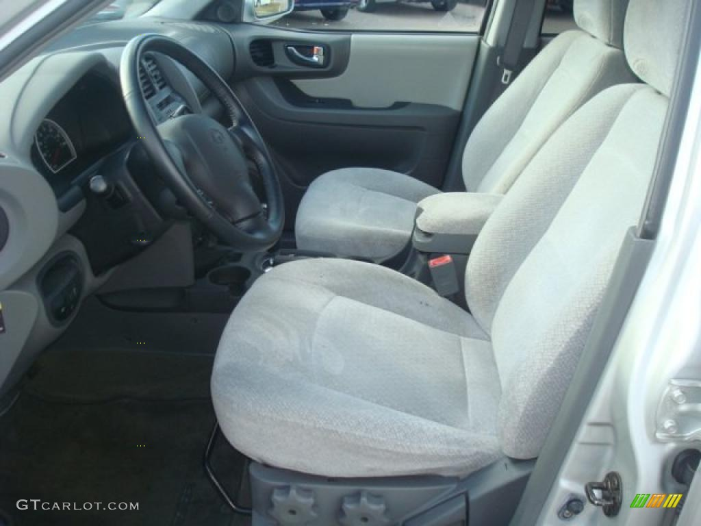 Gray Interior 2005 Hyundai Santa Fe Gls Photo 39806660