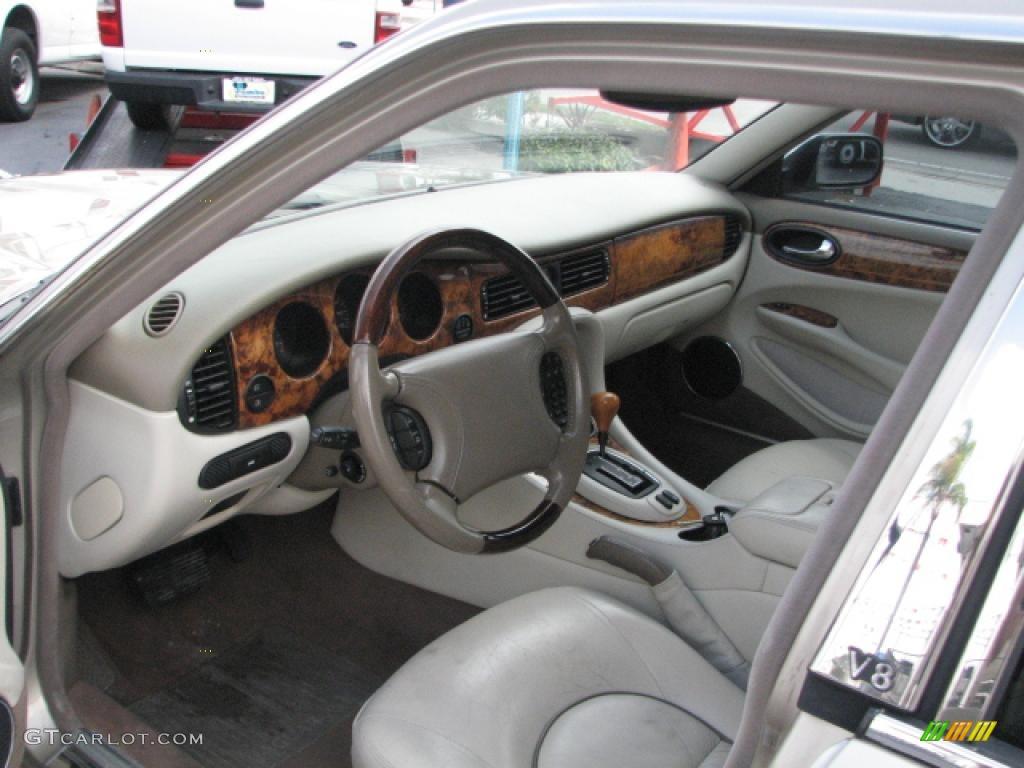 Oatmeal interior 1999 jaguar xj vanden plas photo 39808354