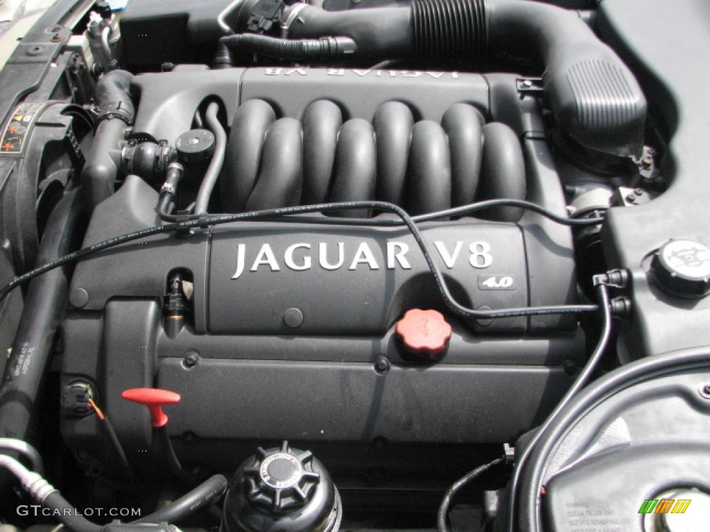 1999 Jaguar XJ Vanden Plas 4.0 Liter DOHC 32-Valve V8 Engine Photo #39808482