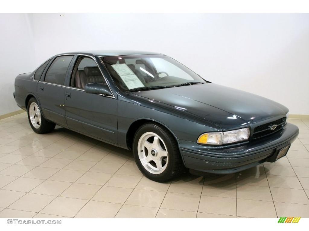 1996 Dark Gray Green Metallic Chevrolet Impala Ss