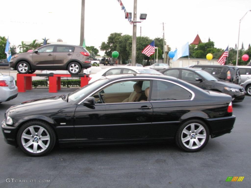 Jet black 2001 bmw 3 series 325i coupe exterior photo 39819820