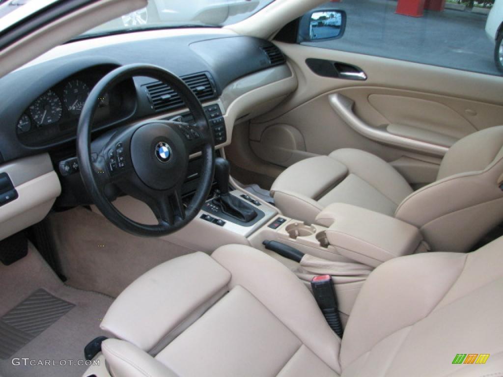 sand interior 2001 bmw 3 series 325i coupe photo 39819976