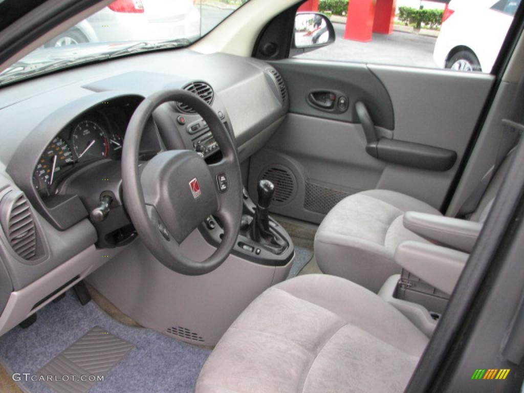 gray interior 2002 saturn vue standard vue model photo. Black Bedroom Furniture Sets. Home Design Ideas