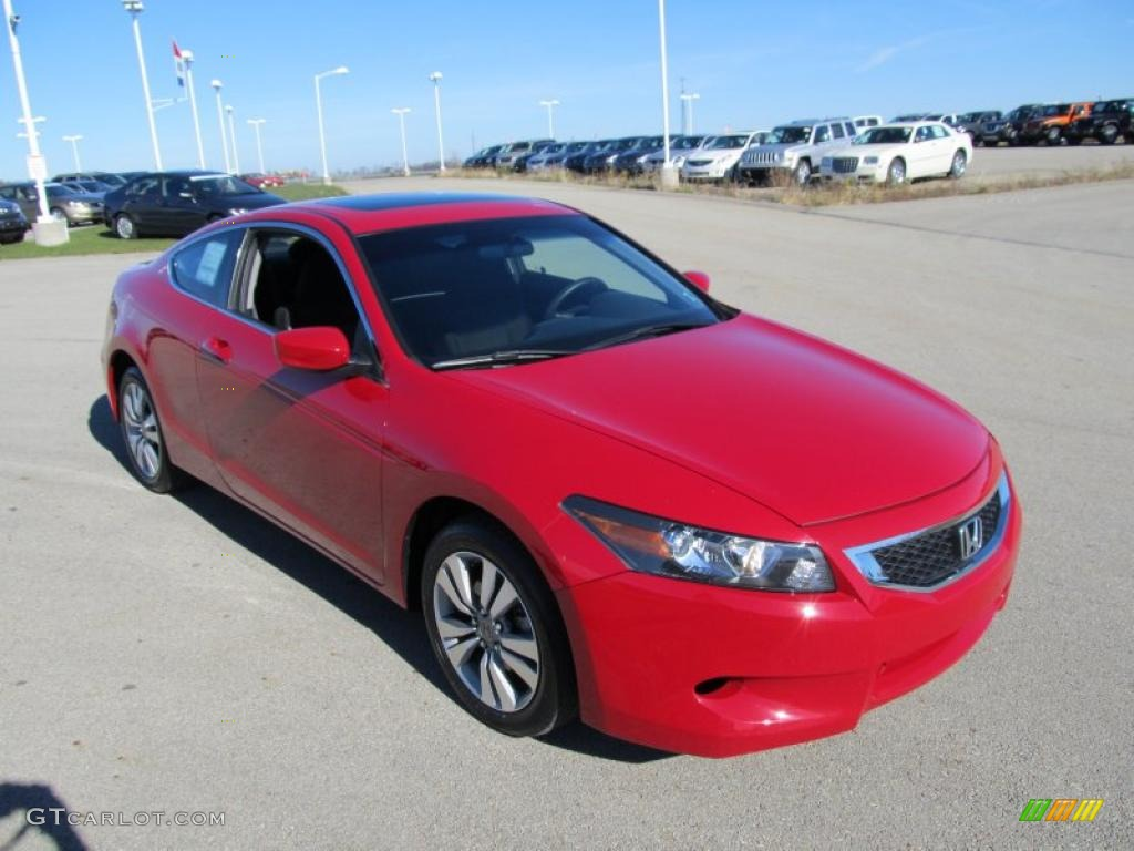 San Marino Red 2010 Honda Accord Ex Coupe Exterior Photo