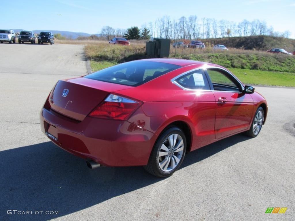 San Marino Red 2010 Honda Accord Ex Coupe Exterior Photo