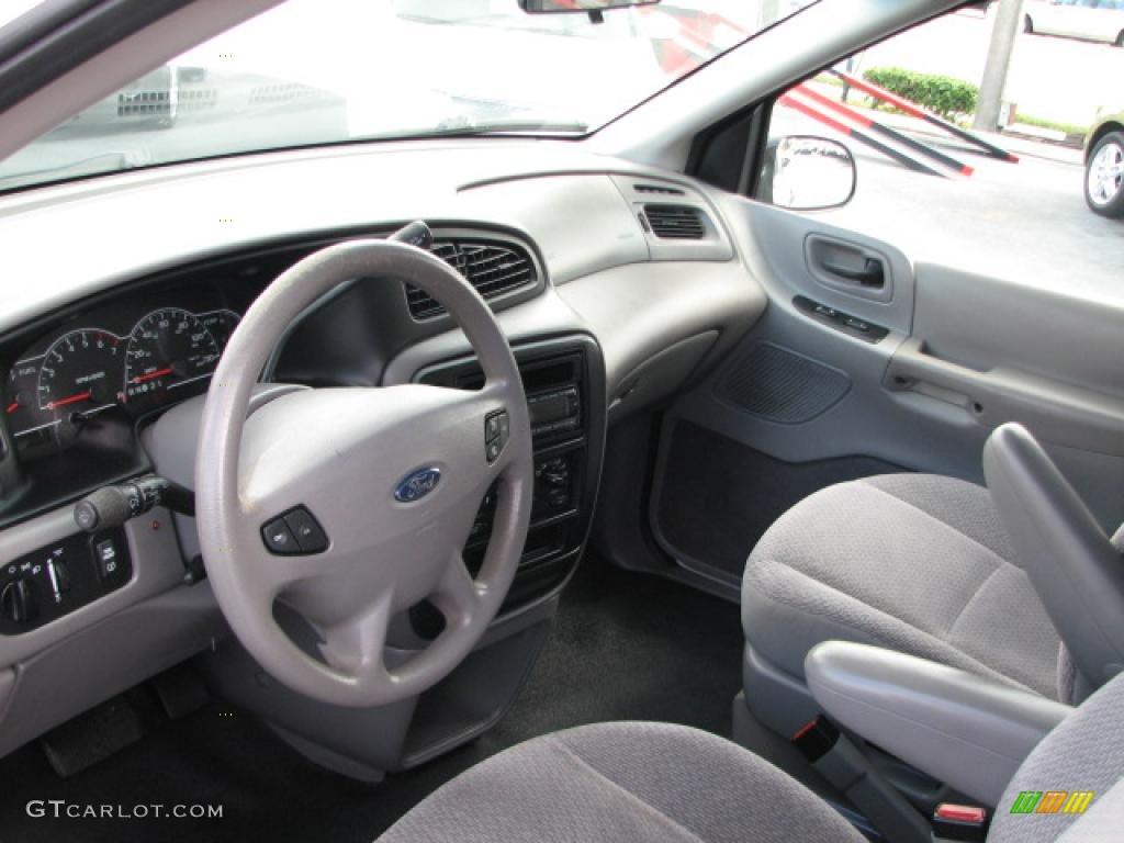 Medium Graphite Grey Interior 2002 Ford Windstar SE Photo ...