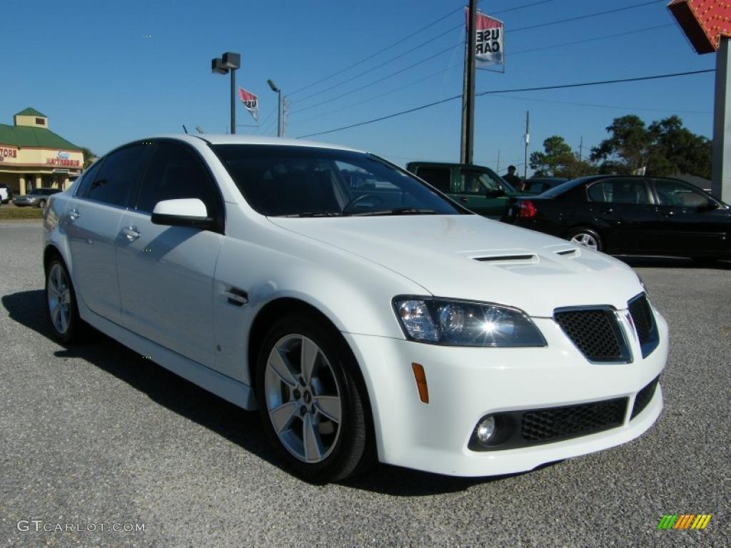 White Hot 2008 Pontiac G8 Gt Exterior Photo 39827590 Gtcarlot Com
