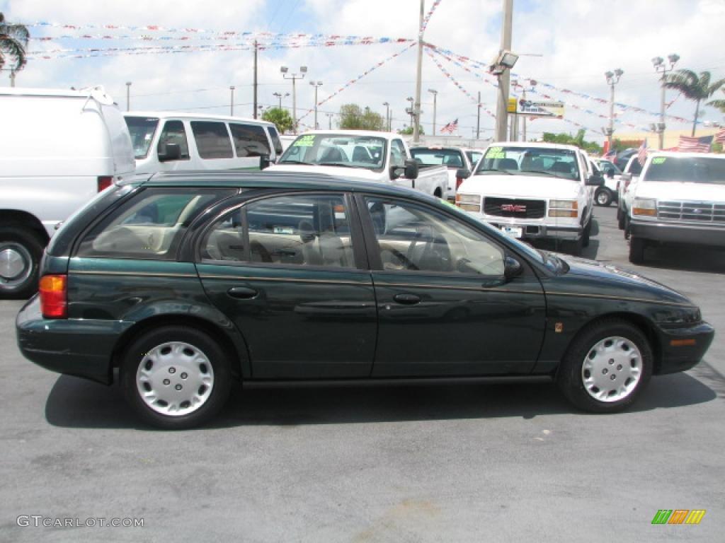 1997 s series sw2 wagon dark green tan photo 9