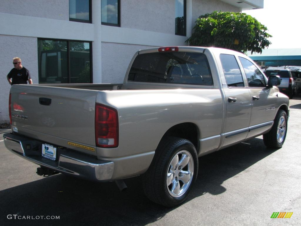 2002 Ram 1500 SLT Quad Cab - Light Almond Pearl / Dark Slate Gray photo #8
