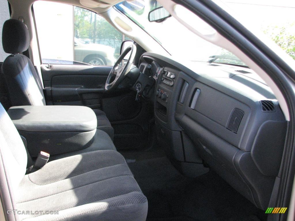 2002 Ram 1500 SLT Quad Cab - Light Almond Pearl / Dark Slate Gray photo #11
