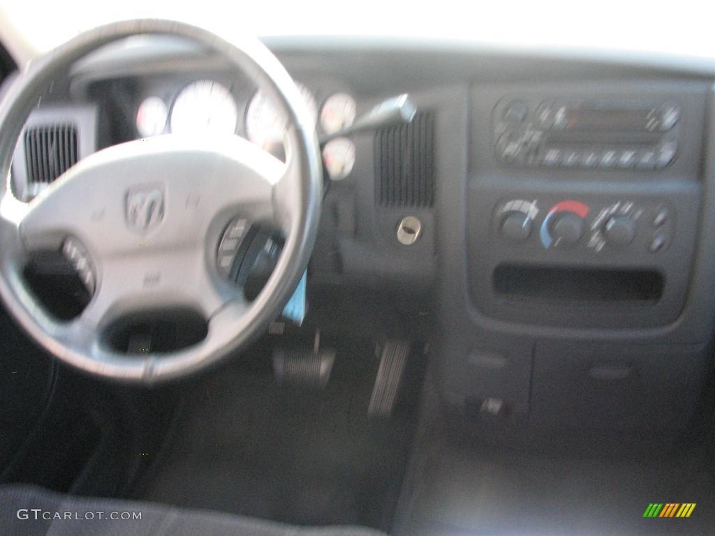 2002 Ram 1500 SLT Quad Cab - Light Almond Pearl / Dark Slate Gray photo #14