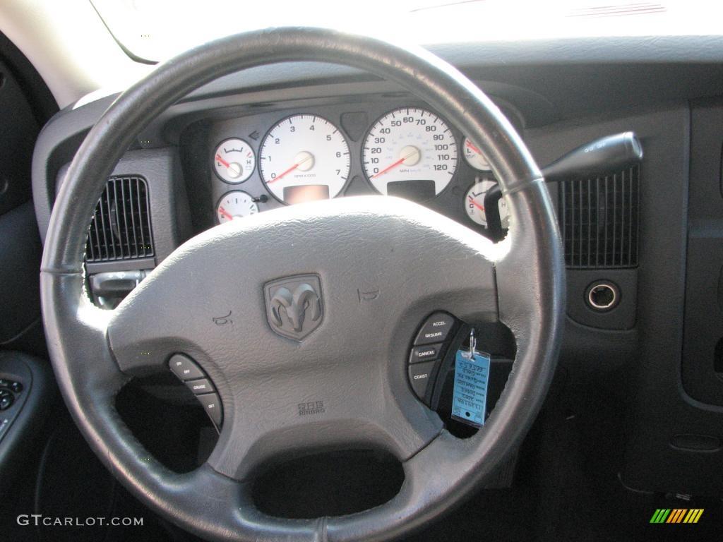 2002 Ram 1500 SLT Quad Cab - Light Almond Pearl / Dark Slate Gray photo #15