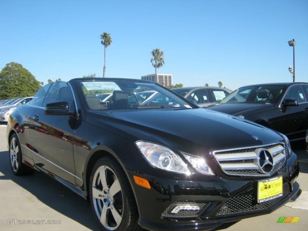 2011 black mercedes benz e 550 cabriolet 39739333 for Black convertible mercedes benz