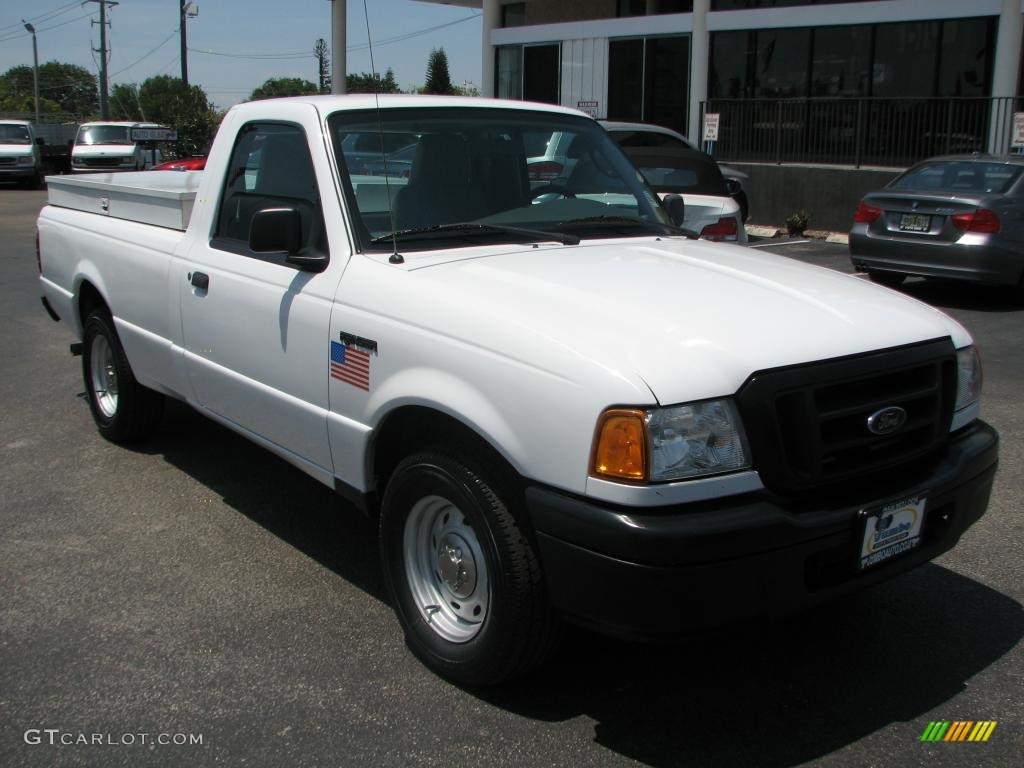 oxford white 2004 ford ranger xl regular cab exterior. Black Bedroom Furniture Sets. Home Design Ideas