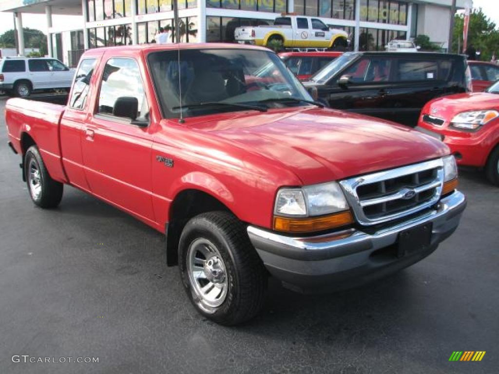 bright red 1998 ford ranger xlt extended cab exterior photo 39843874. Black Bedroom Furniture Sets. Home Design Ideas