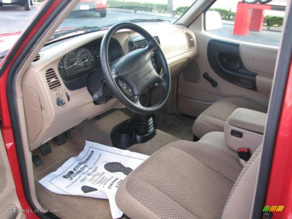 Medium Prairie Tan Interior 1998 Ford Ranger Xlt Extended Cab Photo 39844026