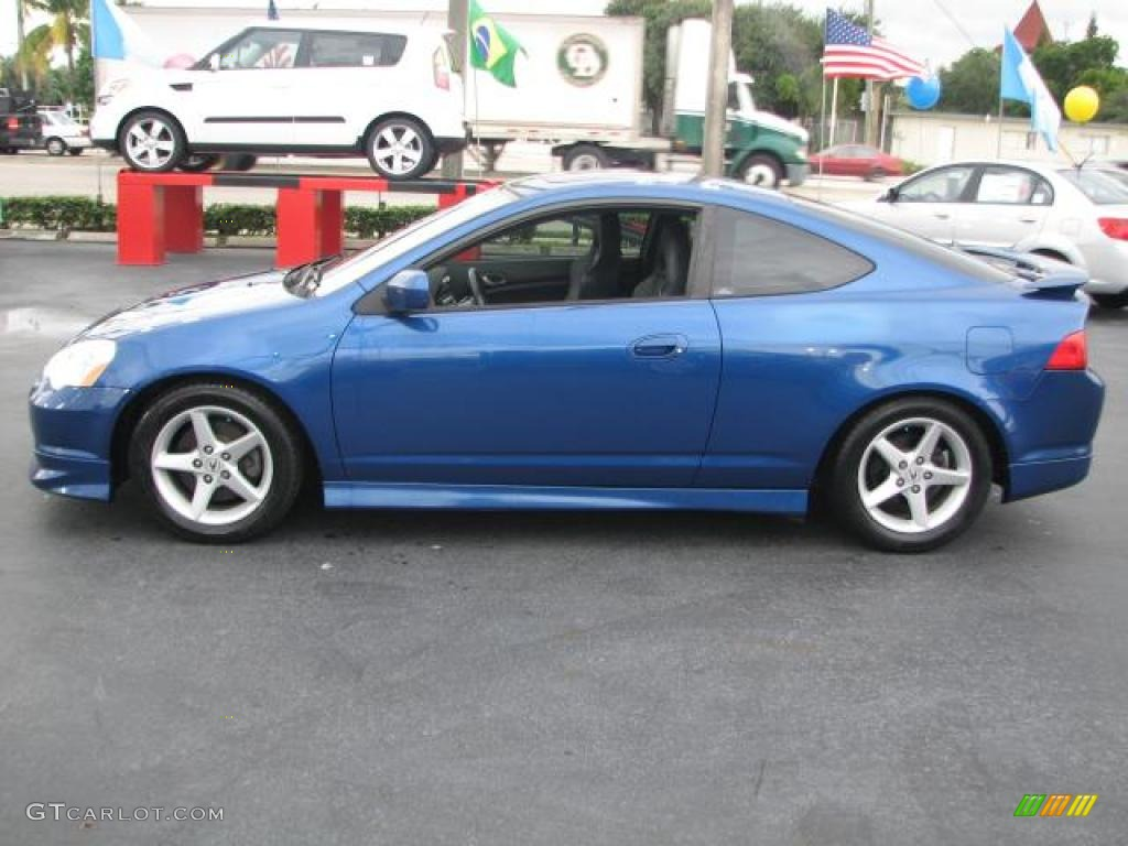Arctic Blue Pearl 2002 Acura RSX Type S Sports Coupe Exterior Photo #39846570 | GTCarLot.com
