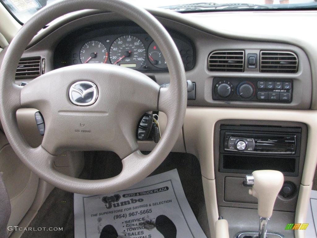 2002 mazda 626 lx dashboard photos | gtcarlot