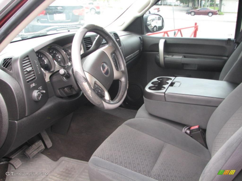 2008 gmc sierra 1500 sle crew cab interior photo 39852502