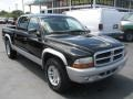 2004 Black Dodge Dakota SLT Quad Cab  photo #1