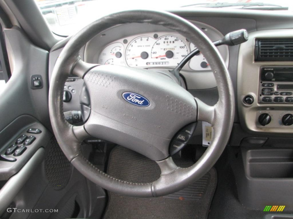 2002 Ford Explorer Sport Trac Standard Model Steering Wheel Photos