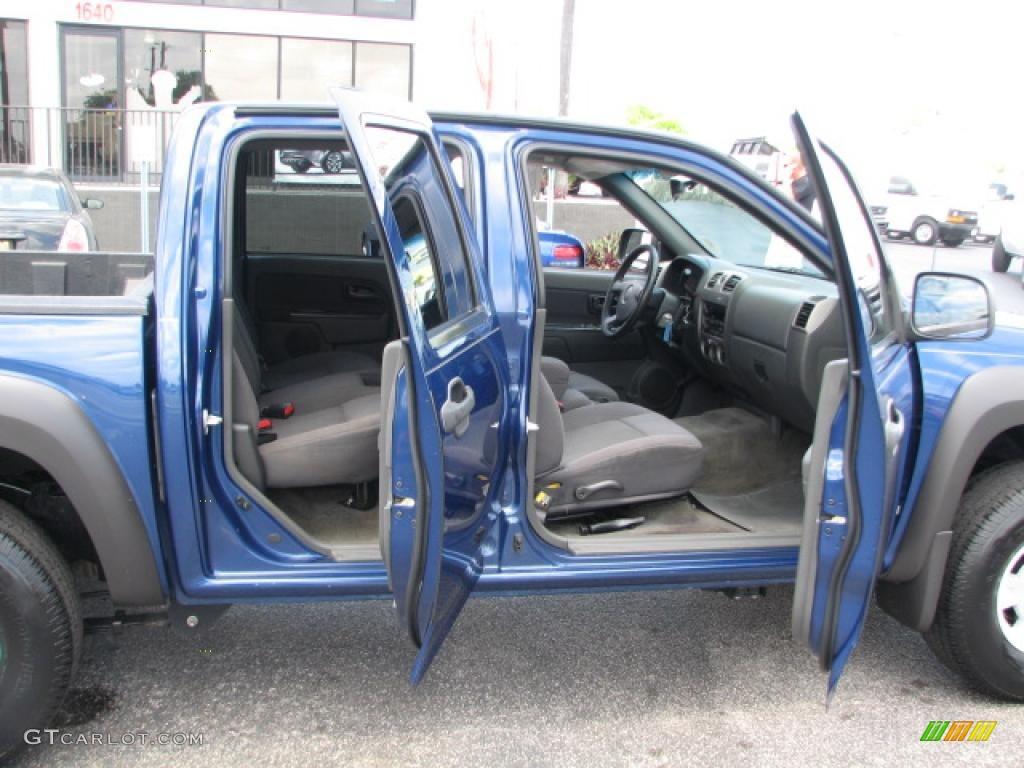Medium Pewter Interior 2006 Chevrolet Colorado Z71 Crew