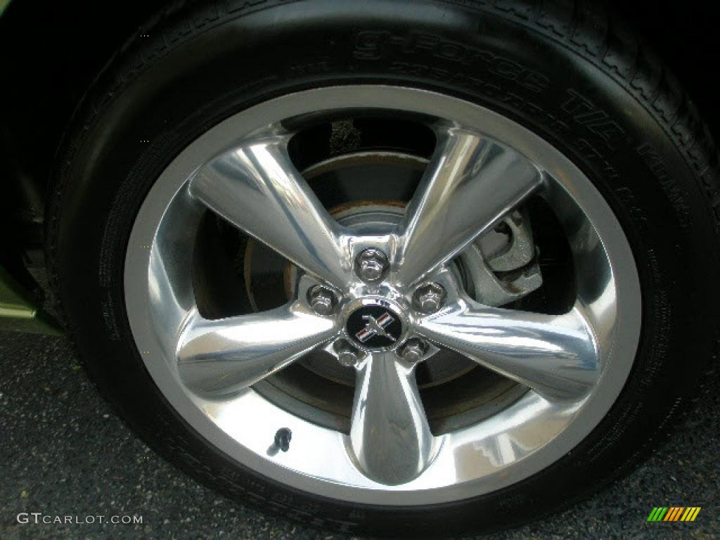 2006 Ford Mustang GT Premium Coupe Wheel Photo #39862955