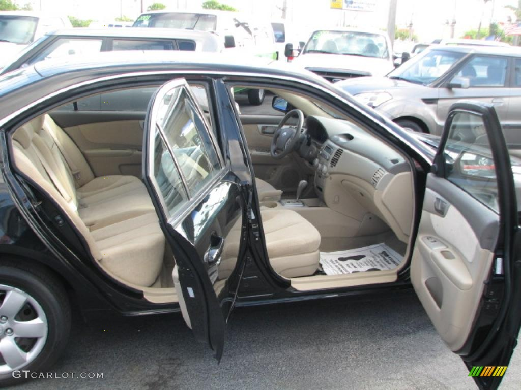 Beige Interior 2007 Kia Optima LX Photo #39863005