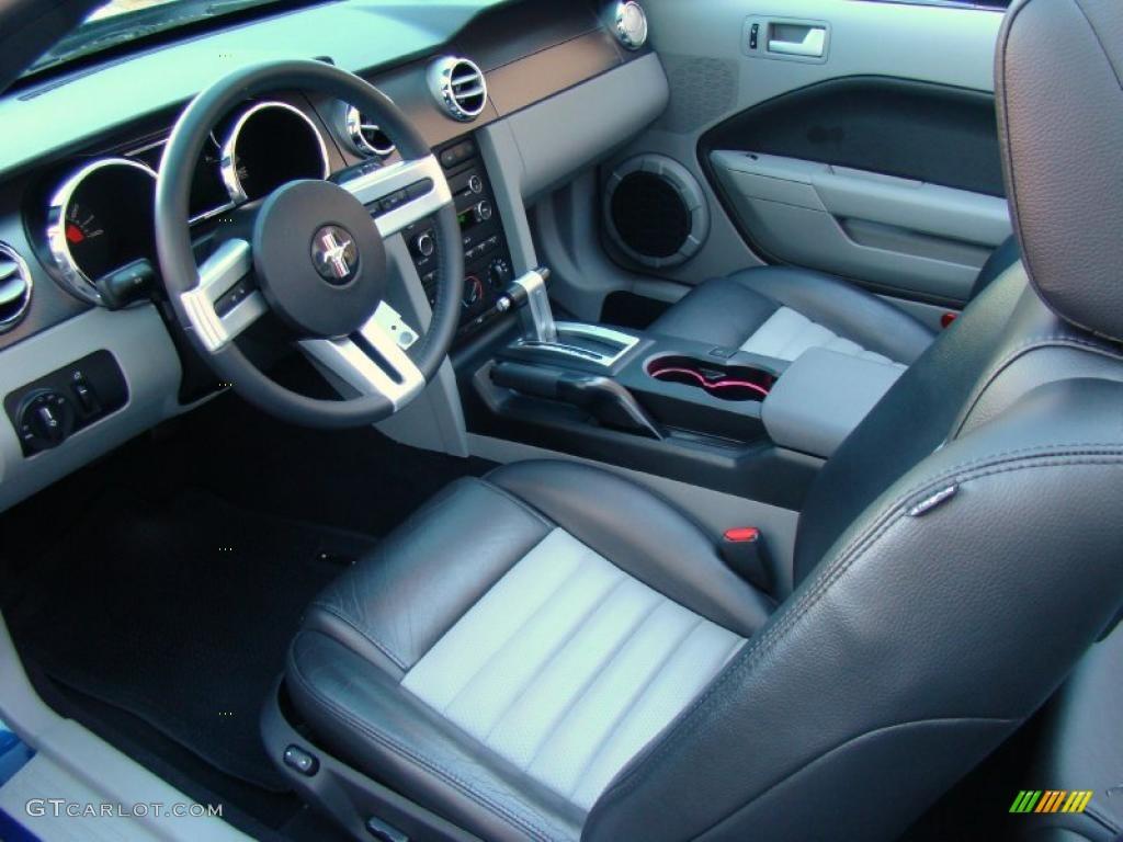 2008 Vista Blue Metallic Ford Mustang Gt Cs California Special Convertible 39741113 Photo 9