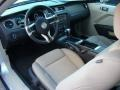 Stone 2011 Ford Mustang Interiors