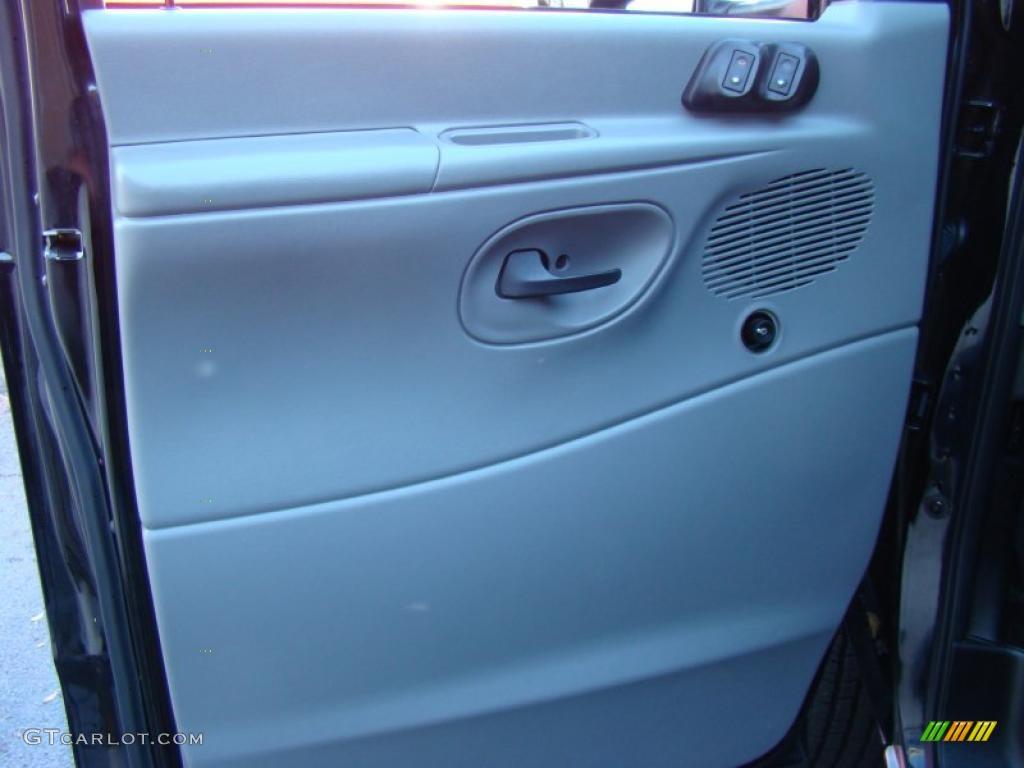 2008 Ford E Series Van E350 Super Duty Cargo Medium Flint Door Panel Photo 39867055