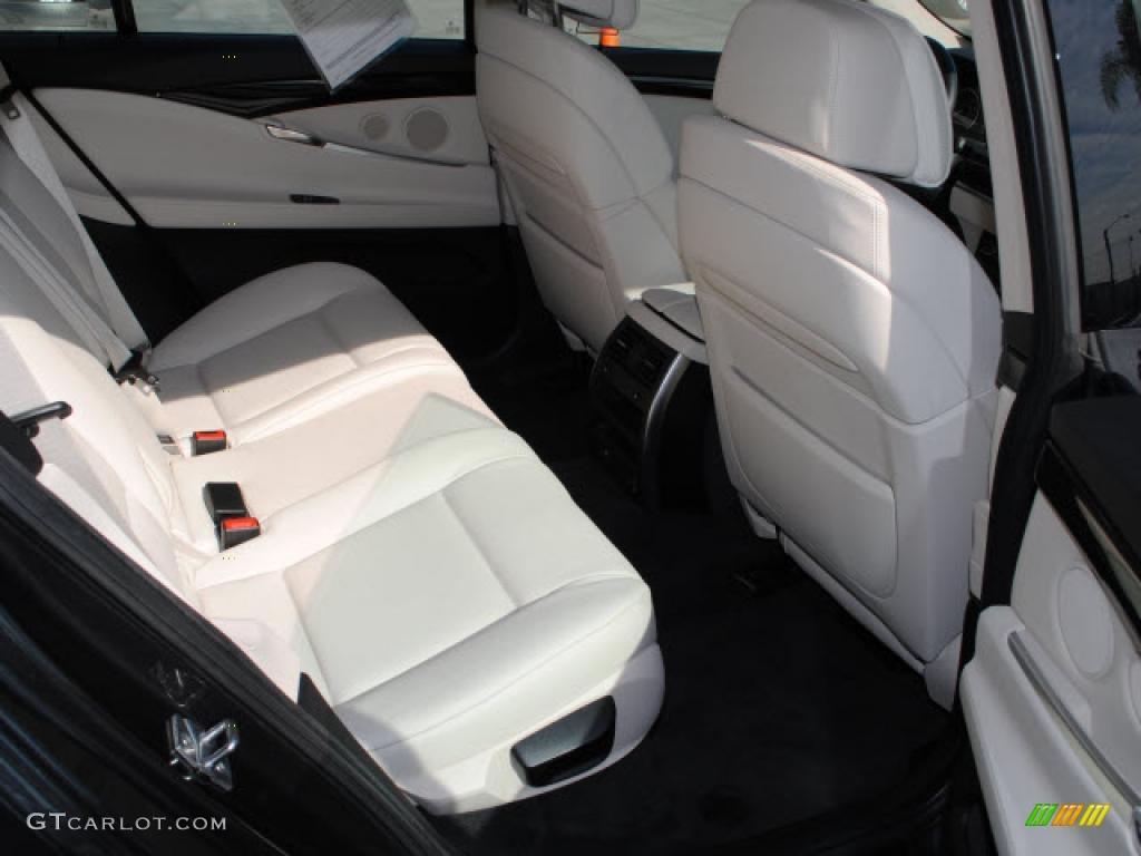 ivory white dakota leather interior 2010 bmw 5 series 535i gran turismo photo 39876519. Black Bedroom Furniture Sets. Home Design Ideas